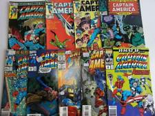 9 x Captain America #272,297,299,360,391,418,428,438, What If #29