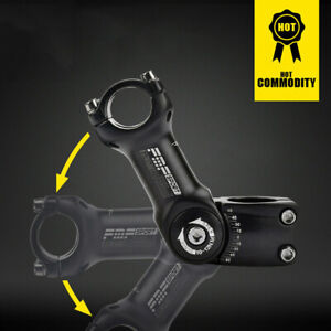25.4/31.8mm Mountain Road Bike Stem Riser Adjustable MTB Bicycle Handlebar 2019