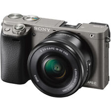 Sony Alpha a6000 Mirrorless Digital Camera w/ 16-50mm Lens (Graphite) ILCE600