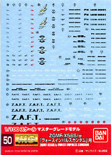[Bandai] Genuine MG 1/100 ZGMF-X56S Force Impulse Gundam waterslide decal GD 50