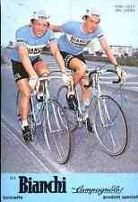 RIK & ALEX VAN LINDEN Team FAEMA Bianchi Signed 2 Autographe cycling dédicace