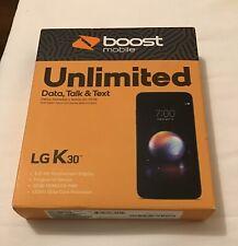 """*Brand New* Lg K30 5.3"""" Hd Smartphone (Boost Mobile) 32Gb Octa-core 13Mp Camera"""