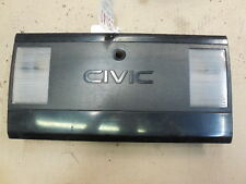 1985 Honda Civic TLP135 Rear Center Trunk Tail Light Panel