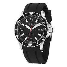 Stuhrling Original Aquadiver Mens 706.01  Quartz Luminous Sports Watch