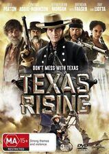 Texas Rising : Season 1 (DVD, 2016, 3-Disc Set)