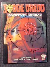 2002 JUDGE DREDD Innocents Abroad by Garth Ennis SC VF- Titan Books UK