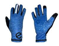 eGLOVE Run - Blue Touchscreen Running Gloves - Reflective detail - SECONDS
