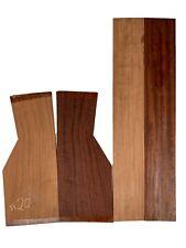 Exotic Bubinga Dreadnought Guitar Back & Side Set, Luthier Tonewood#20
