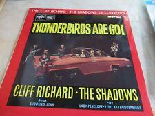 CLIFF RICHARD & The SHADOWS VINYL Thunderbirds are Go! EP Collection Vol 15 MINT