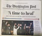 BIDEN-HARRIS WIN - Sunday, November 8th Washington Post Edition Special Edition