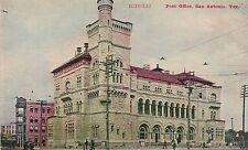 Post Office in San Antonio TX Postcard