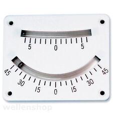 Krängungsmesser Clinometer Neigungsmesser Gefällemesser mit Lupe