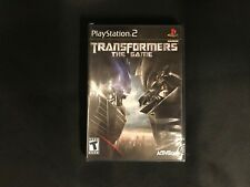 Transformers: The Game PS2 (Sony PlayStation 2, 2007) Brand New Factory Sealed