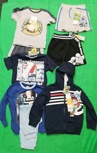 Bundle For Boy Cardigan Pyjama Shorts Long Sleeve Top Sets Star War Age 4 002