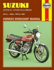 Suzuki GT Motorcycle Workshop Manuals