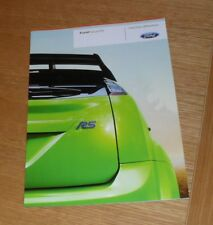 Ford Focus RS Mk2 Brochure 2008-2011