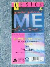 "VENICE Japan 1988 Tall 3""CD Single YOU GAVE ME LOVE"