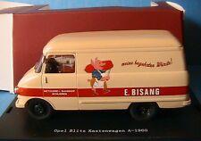 OPEL BLITZ KASTENWAGEN A 1960 METZGEREI STARLINE 530521 1/43 TOLEE BISANG