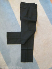 Mens Black Pants Chino 26  32  x 32 NEW Angelina BEST