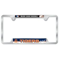 Detroit Tigers License Plate Frame Metal