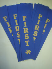 1ST PLACE AWARD RIBBONS FOR CLUBS,EVENT,SCHOOLS