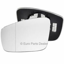 Passenger Side HEATED WING DOOR MIRROR GLASS For VW UP 2011-On Clip On New