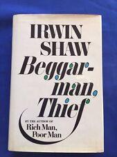 BEGGAR-MAN THIEF - FIRST EDITION INSCRIBED BY IRWIN SHAW