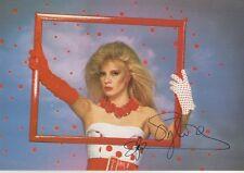 Sylvie Vartan Autogramm signed 10x15 cm Postkarte