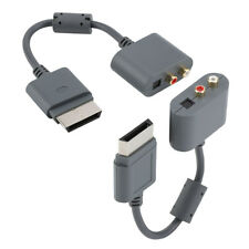 RCA Optical Audio Adapter Conversion HDMI AV Cable For Microsoft Xbox 360 SP