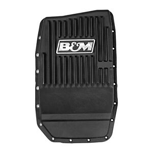 B&M 70394 Finned Cast Aluminum Trans Pan Ford F150 6R80 Trans 2009 to 2019