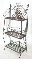 Estantería Avis De Metal 1844 Hierro Forjado Marrón 123cm estante para libros