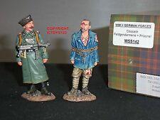King and Country wss142 forze tedesche cossak FELDGENDARMERIE + Set PRIGIONIERO