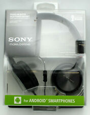 New Sealed Sony MDR-ZX300AP Headset for Andrioid Smartphones
