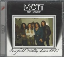 MOTT THE HOOPLE - Fairfield Halls, Live 1970 CD (Ian Hunter)
