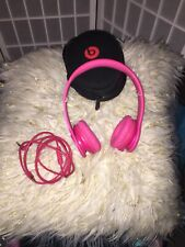 Beats by Dr. Dre Solo HD Headband Headphones - Pink
