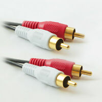 High quality Stereo Audio Cable 2RCA Male to 2RCA Male Cable- 6FT 12FT 25FT 50FT