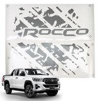 For Toyota Hilux Revo Rocco SR5 2019 20 Rear Tailgate Sticker Dark Grey