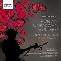 LONDON MOZART PLAYERSMELVYN TANNICHOLAS CLEOBURY - FOR AN UNKNOWN SOLDIER [CD]
