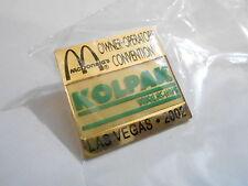 NOS McDonalds Advertising Enamel Pin #44 - 2002 KOLPAK