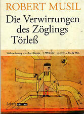 Die Verwirrungen des Zöglings Törleß - Robert Musil - MP3-CD -7:20 Std NEU/OVP