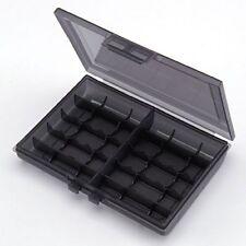 Sanwa Eneloop Storage Plastic Case Holder for AA & AAA Battery 200-BT005BK