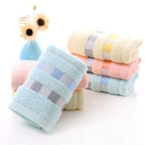 Soft Face Towel Absorbent Terry Hand Bath Beach Face Sheet Towel Clean Towel AU