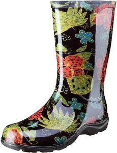 Sloggers Women's Waterproof Rain and Garden Boot with Comfort Insole # 10