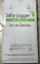 New ListingBaby Jogger City Select Lux Pram Bassinet Kit in Slate- Vguc