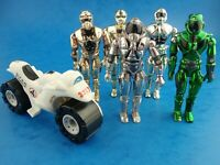Toy Figures LANARD Lazer Force Galactic & Star Force Bike Used Played Cond