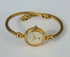 Vintage GUCCI 18K Goldplated Ladies Watch Swiss Made Women's Watch