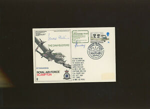 1970 RAF Scampton The Dam Busters cover signed by Leonard Cheshire