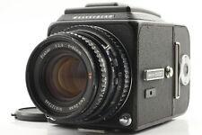 [Near Mint+3] Hasselblad 500CM C/M Black A12 II Planar C T* 80mm f2.8 Lens JAPAN