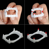 3pcs vampire fake teeth glow in the dark toy for halloween party cosplay t JR