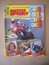 MOTOSPRINT n°43 1994  TEST YAMAHA FZR 1000 EX UP  [MS9]